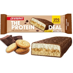 Enervit The Protein Deal 55g Crispy Cookie Treat, proteinbar