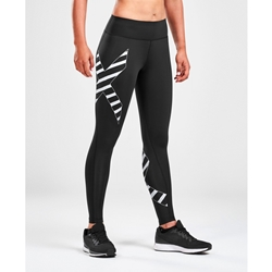 2Xu Bonded Mid-Rise Comp Tight-W