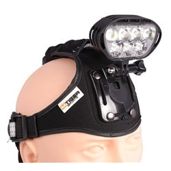 M Tiger Sports Superion Head Light-Kit är en riktigt stark pannlampa