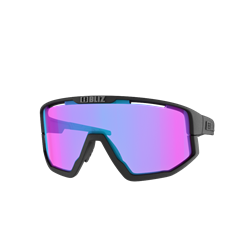 Bliz Fusion Nordic Light Matt Black, Violet With Blue Multi