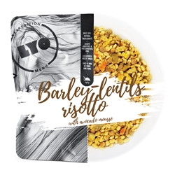 Lyofood Barley-Lentils Risotto With Avocado Mousse 500Gram