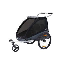 Thule Coaster XT Bike Trailer+stroll Black